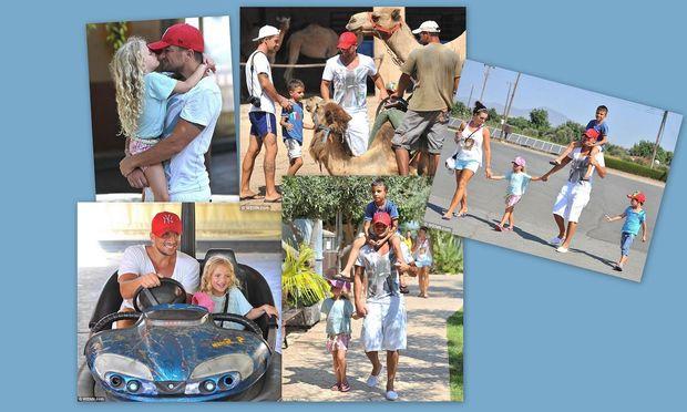 Πίτερ Αντρέ: Διακοπές με τα παιδιά του στην Κύπρο