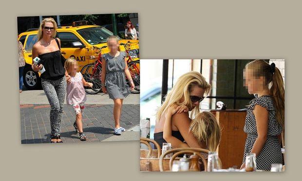 Jennie Garth: Βόλτα με τις κόρες της!