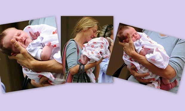 Η νεογέννητη κόρη της Ούμα Θέρμαν!