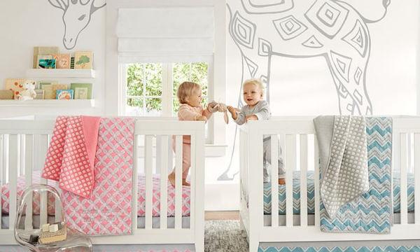 Σχεδιάστε ένα παιδικό δωμάτιο για δίδυμα