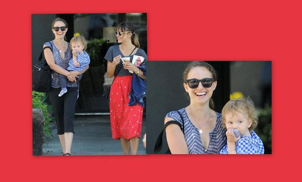 Natalie Portman: Μια ευτυχισμένη μανούλα!