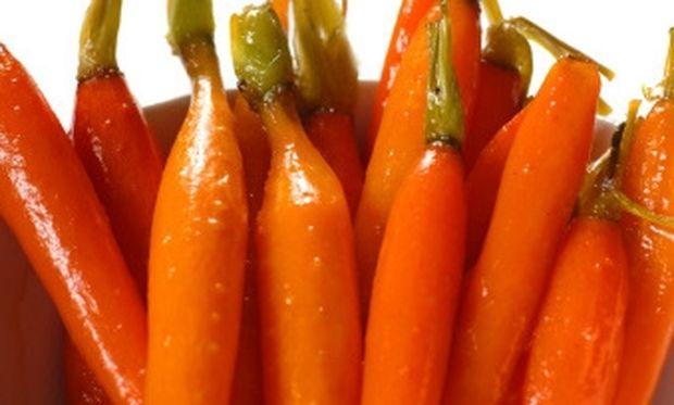 Φτιάξτε νόστιμα καραμελωμένα καρότα για τα παιδιά!