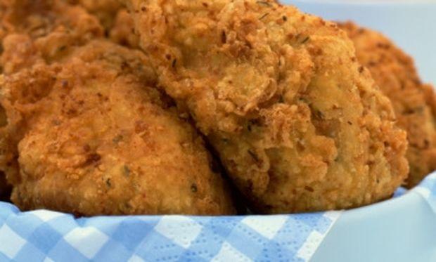 Τραγανό τηγανιτό κοτόπουλο!
