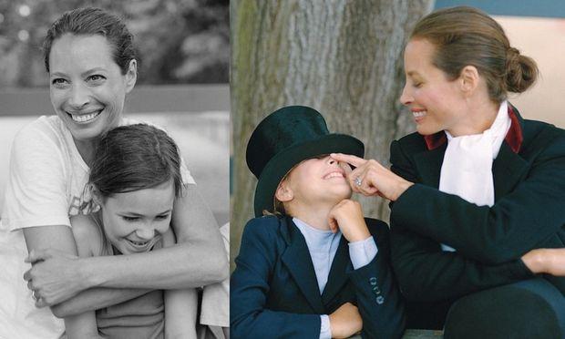 Η Christy Turlington ποζάρει σε φωτογράφηση μαζί με την κόρη της!