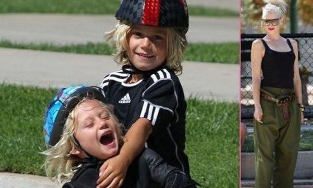 Gwen Stefani: Παιχνίδια στο πάρκο με τους γιους της!