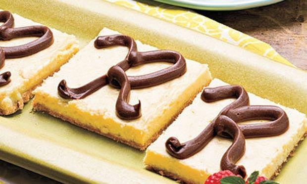 Μπάρες από cheesecake!