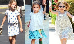 Οι μικρές fashionistas προτείνουν πουά!