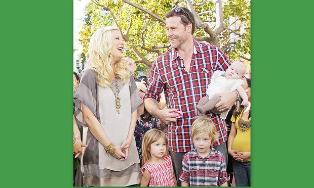 Το γράμμα του συζύγου της Tori Spelling στο νέο μέλος της οικογένειας!