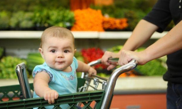 Πόσο εύκολο είναι να πάω για ψώνια με το μωρό μου;