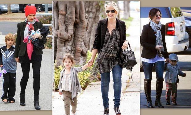 Διάσημες μαμάδες… back to school με τα παιδιά τους!