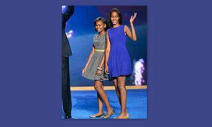 Malia και Sasha Obama: Στιλάτη εμφάνιση στο Συνέδριο των Δημοκρατικών