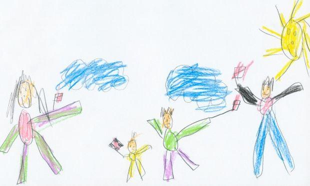 Ιδέα για πρόσκληση σε παιδικό πάρτι που θα ζωγραφίσει το παιδί σας!