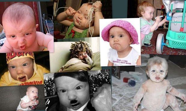 Οι πιο αστείες φωτογραφίες μωρών που έχετε δει!