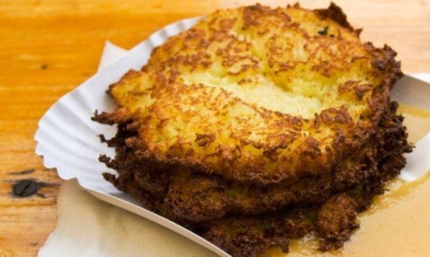 Τηγανίτες από πατάτα στο φούρνο!