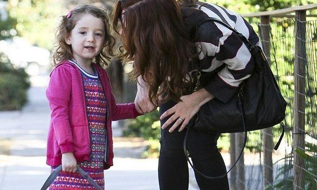 Η κόρη της Alyson Hannigan μεγάλωσε και πάει και προνήπιο!