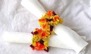 Φτιάξτε δαχτυλίδια για τις πετσέτες σας!