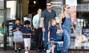 Heidi Klum - Martin Kristen: Μια οικογένεια στα μπλε!
