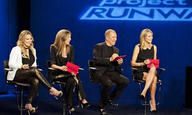 Η Hilary Duff σχολιάζει παιδικό ντύσιμο στο Project Runway