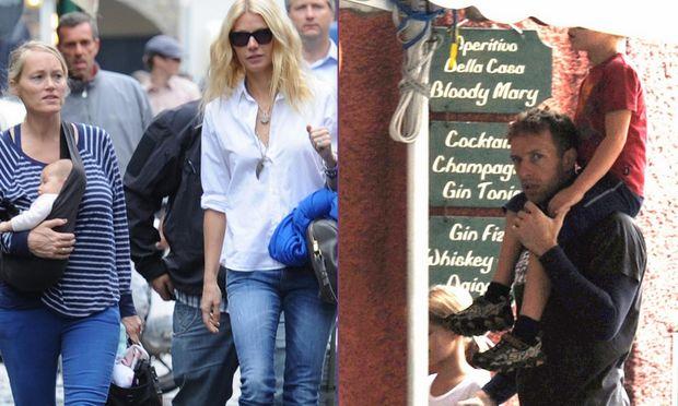 Gwyneth Paltrow: Οικογενειακό τριήμερο στο Πορτοφίνο