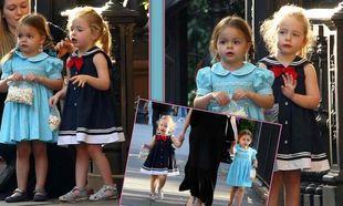 Στα χνάρια της fashionista μαμάς τους οι δίδυμες!
