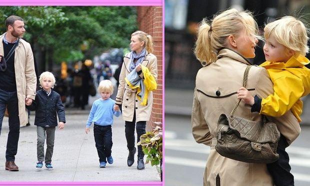 Η Naomi Watts σε οικογενειακές στιγμές της!