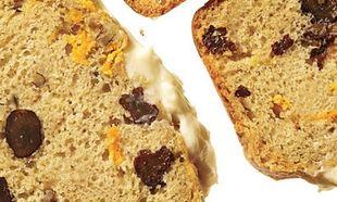 Ψωμί από γλυκοπατάτα και τυρί!