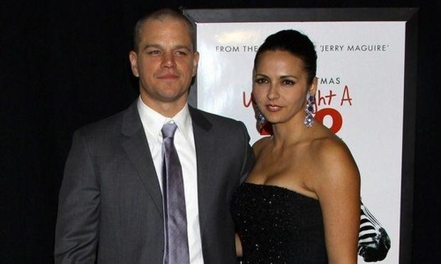 Matt Damon: Οι άσπρες τρίχες που έχω βγάλει οφείλονται στις κόρες μου»