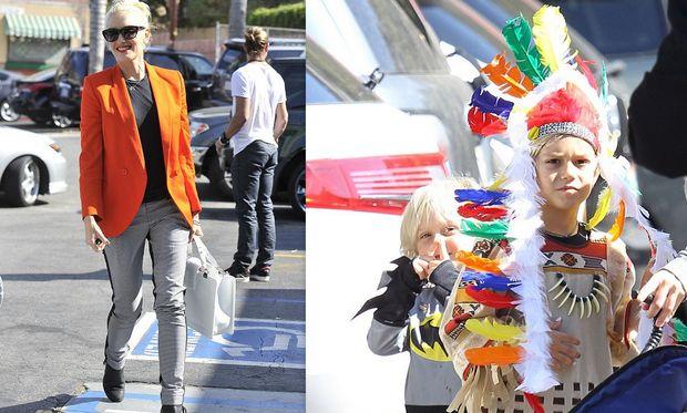 Gwen Stefani: Έξοδος με την οικογένειά της για το Halloween
