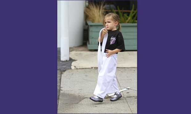 Και η μικρή κόρη της Jennifer Garner μαθαίνει καράτε!