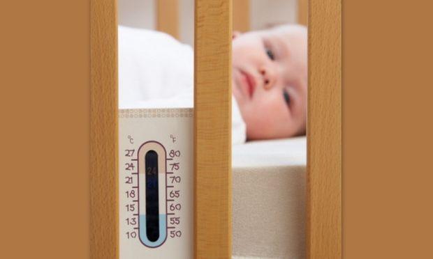 Ποια είναι η σωστή θερμοκρασία για το δωμάτιο του μωρού μου;
