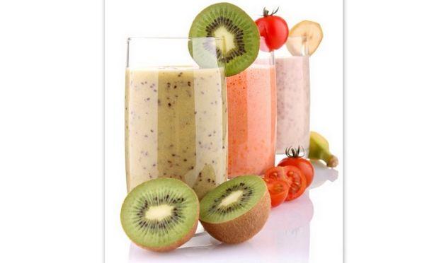 Milk Shakes με φρούτα και λαχανικά εποχής!
