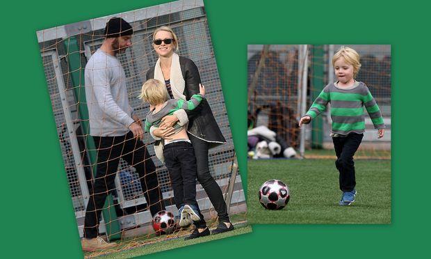 Naomi Watts - Liev Screiber: Για soccer με τα παιδιά τους!