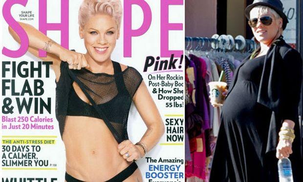 Pink: Πως έχασε τα κιλά της εγκυμοσύνης της