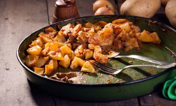 Μοσχαράκι με πατάτες και θυμάρι!