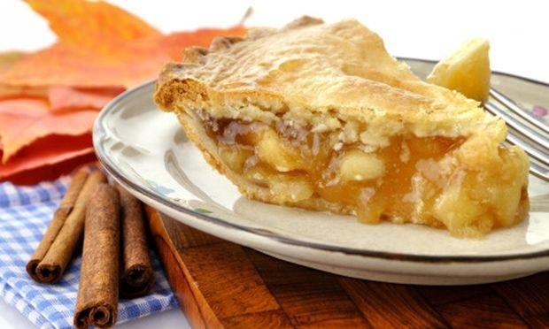 Καραμελωμένη μηλόπιτα