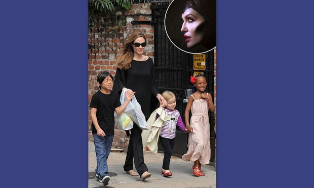 Angelina Jolie: Το Maleficent έγινε οικογενειακή υπόθεση!