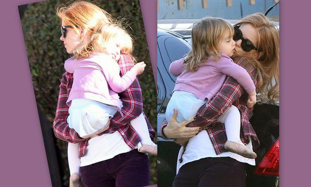 Isla Fisher: Τρυφερές στιγμές με την κόρη της!