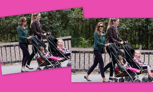 Sarah Jessica Parker: Βόλτα με τη νταντά και τις δίδυμες!