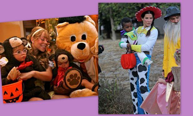 Το Halloween των σταρ και των παιδιών τους