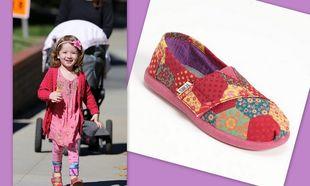 Τα τέλεια και πολύχρωμα παπουτσάκια της κόρης της Alyson Hannigan