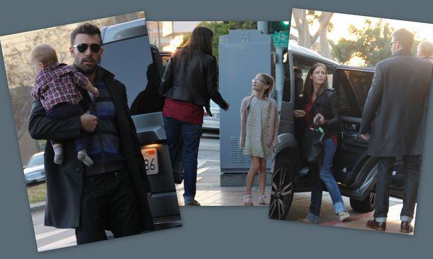 Jennifer Garner - Ben Affleck: Σαββατιάτικο οικογενειακό γεύμα!