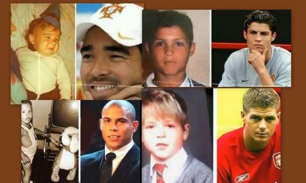 Βίντεο: Όταν οι άσσοι του ποδοσφαίρου…  ήταν άτακτα μωρά!