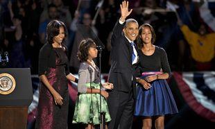 Η στιλάτη εμφάνιση της Malia και της Sacha δίπλα στον Barack Obama