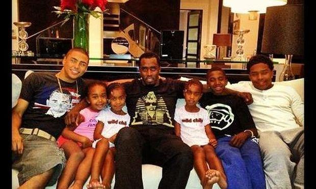 Sean Diddy Combs: Γιόρτασε τα γενέθλια του με τα παιδιά του