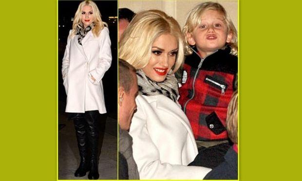 Gwen Stefani: Δεν αποχωρίζεται ποτέ τα παιδιά της!