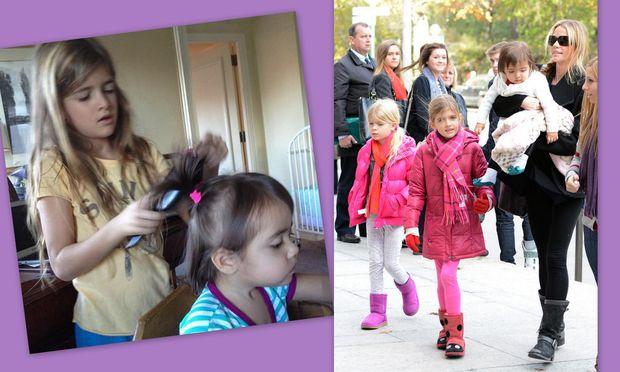 Denise Richards: Κομμωτήριο με τις κόρες της στο σπίτι και στη συνέχεια έξοδος!