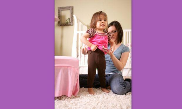 Ο καθημερινός αγώνας για το ντύσιμο του παιδιού σας!