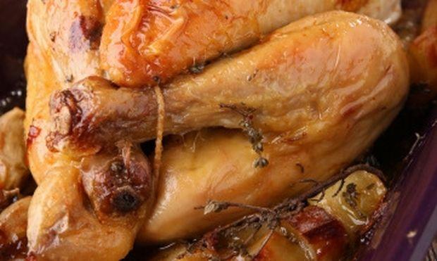Κοτόπουλο τρυφερό στη λαδόκολλα!