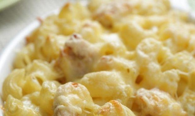 Γεμιστά κοχύλια με τυρί και μπέικον!