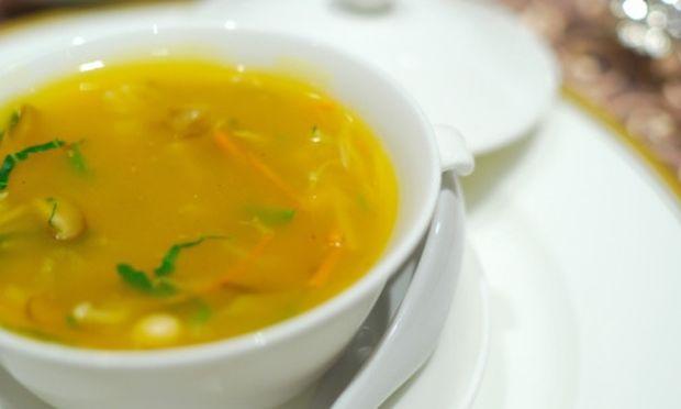 Λαχταριστή κρεατόσουπα με λαχανικά!